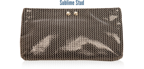 Kaia Peterka Sublime Stud Clutch